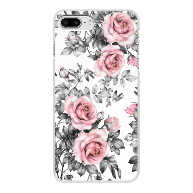 Фото - Printio Чехол для iPhone 7 Plus, объёмная печать Цветы printio чехол для iphone 7 plus объёмная печать цветы на фоне озера картина вещилова