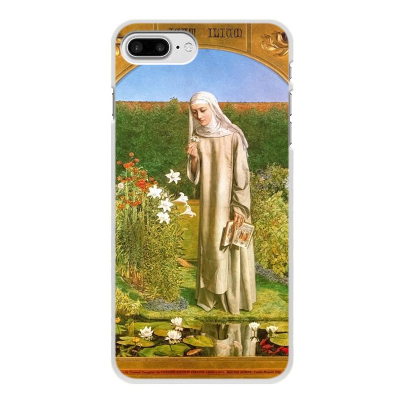 Printio Чехол для iPhone 7 Plus, объёмная печать Мысли монахини (чарльз олстон коллинз)