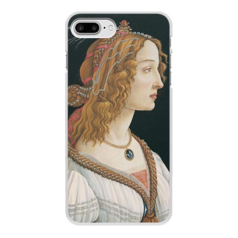 Фото - Printio Чехол для iPhone 7 Plus, объёмная печать Портрет молодой женщины (боттичелли) printio чехол для iphone x xs объёмная печать портрет молодой женщины боттичелли