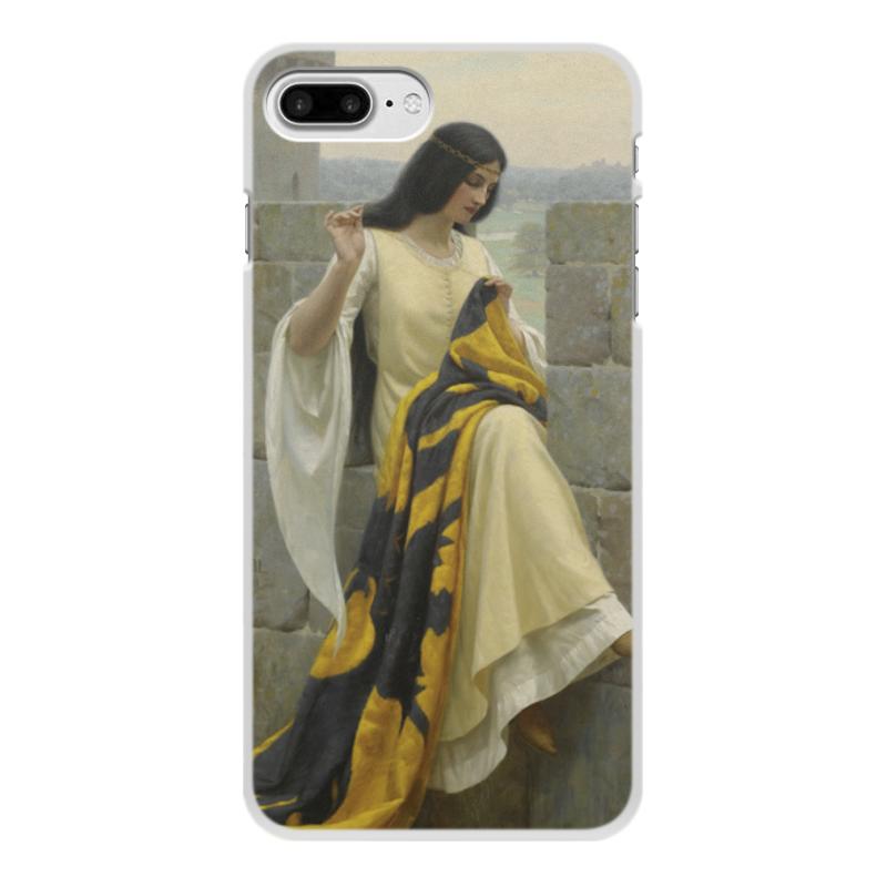 Фото - Printio Чехол для iPhone 7 Plus, объёмная печать Шитьё знамени (эдмунд блэр лейтон) printio чехол для iphone 7 plus объёмная печать сирень эдмунд блэр лейтон