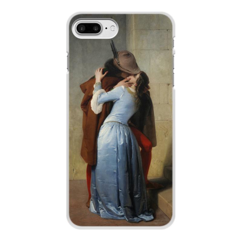 Фото - Printio Чехол для iPhone 7 Plus, объёмная печать Поцелуй (франческо айец) printio чехол для iphone 7 plus объёмная печать поцелуй картина климта