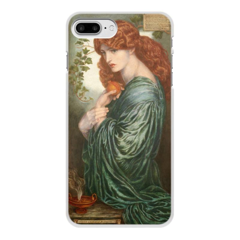 Фото - Printio Чехол для iPhone 7 Plus, объёмная печать Прозерпина (картина данте габриэля россетти) printio чехол для iphone 7 plus объёмная печать цветы на фоне озера картина вещилова