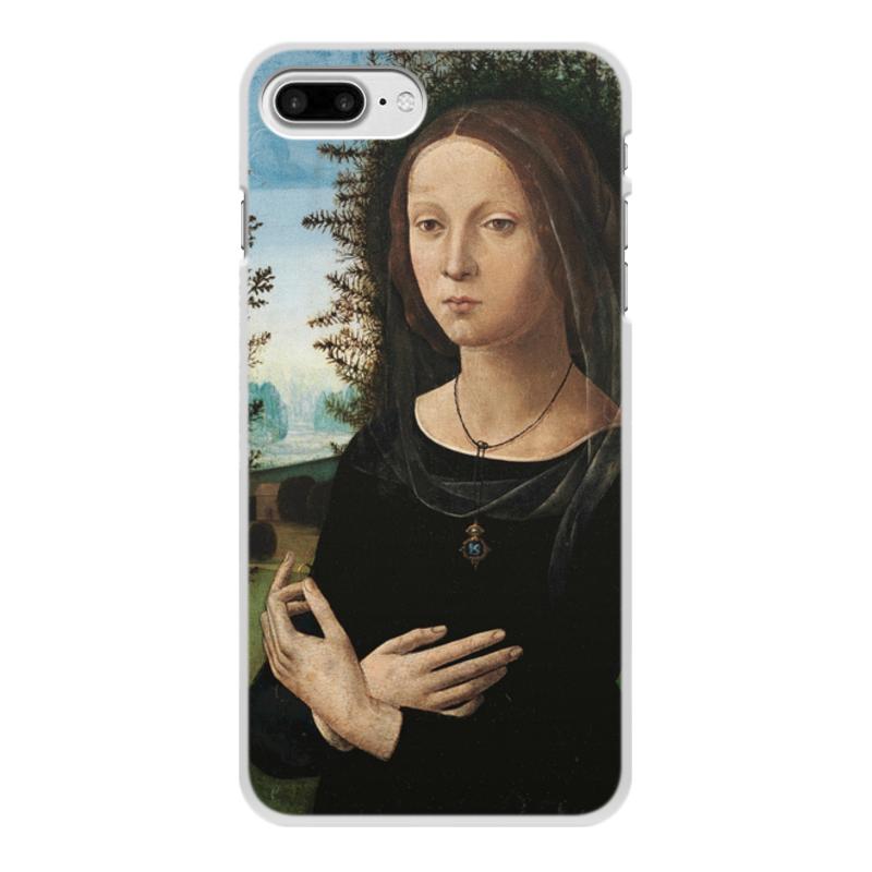 Фото - Printio Чехол для iPhone 7 Plus, объёмная печать Портрет молодой женщины (лоренцо креди) printio чехол для iphone x xs объёмная печать портрет молодой женщины боттичелли