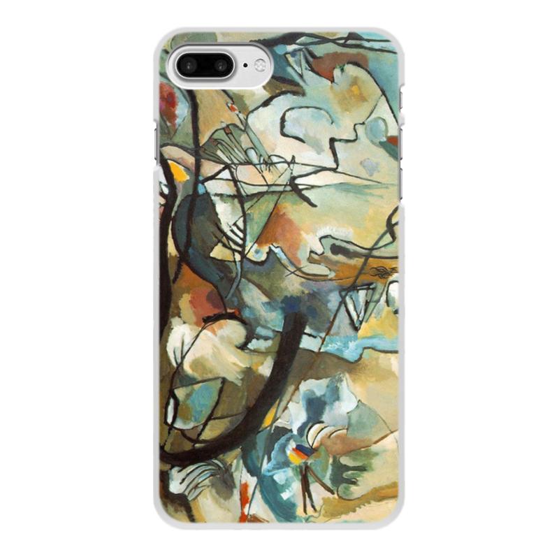 Printio Чехол для iPhone 7 Plus, объёмная печать Композиция v (василий кандинский) printio чехол для iphone 7 plus объёмная печать тонкое напряжение василий кандинский