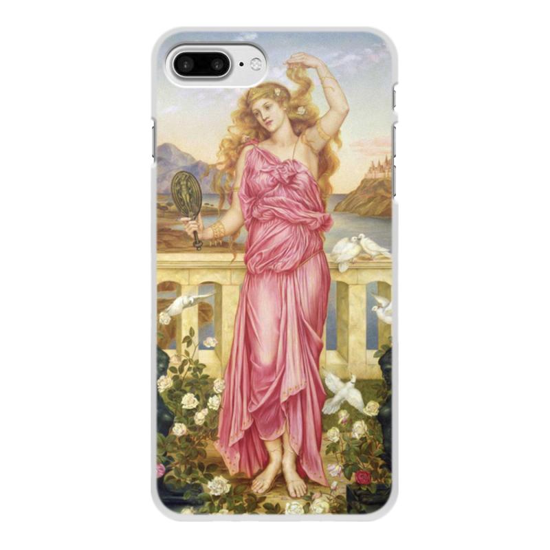 Printio Чехол для iPhone 7 Plus, объёмная печать Елена троянская (эвелин де морган)