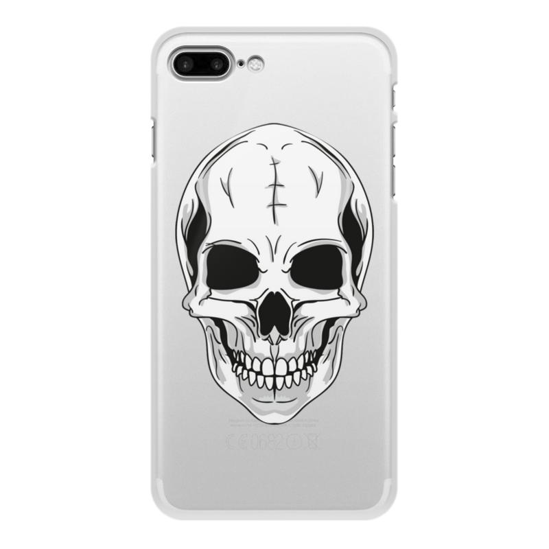 Printio Чехол для iPhone 7 Plus, объёмная печать Череп printio чехол для iphone 7 plus объёмная печать айфон