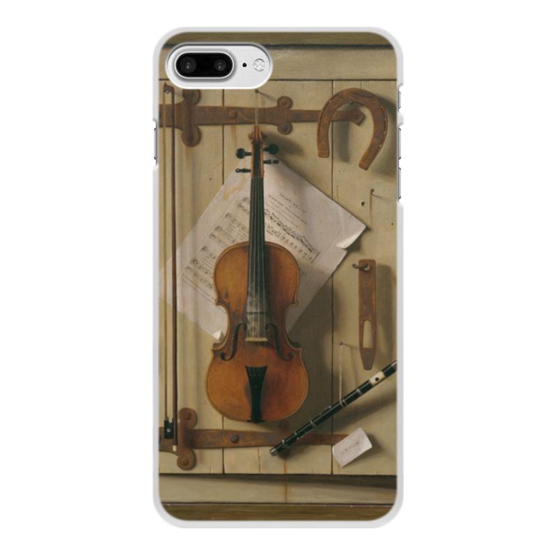 Printio Чехол для iPhone 7 Plus, объёмная печать Натюрморт со скрипкой (уильям харнетт)