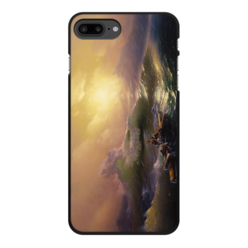 Printio Чехол для iPhone 7 Plus, объёмная печать Девятый вал (картина айвазовского)