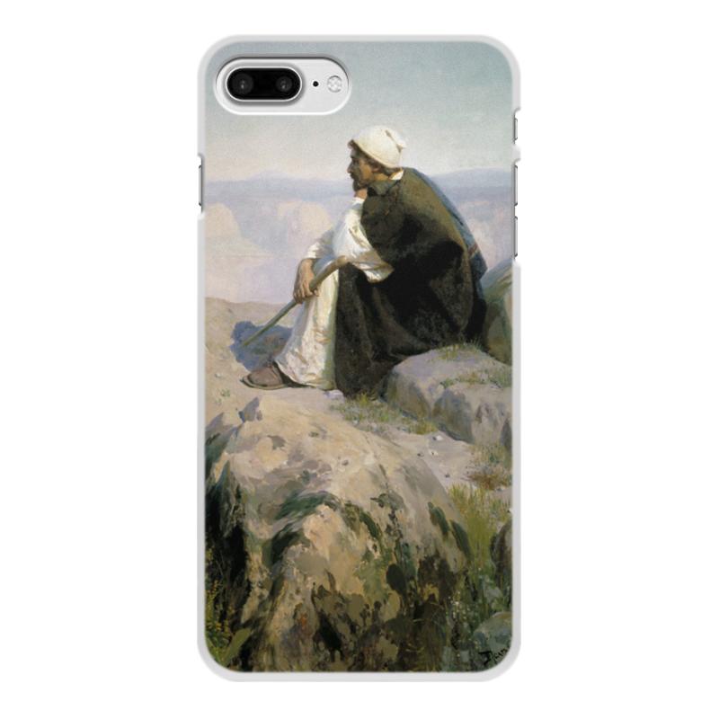 Фото - Printio Чехол для iPhone 7 Plus, объёмная печать Мечты (на горе) (картина поленова) printio чехол для iphone 7 plus объёмная печать цветы на фоне озера картина вещилова
