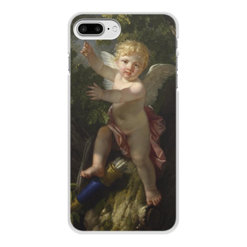 Printio Чехол для iPhone 7 Plus, объёмная печать Купидон на дереве (ле барбье жан-жак-франсуа)