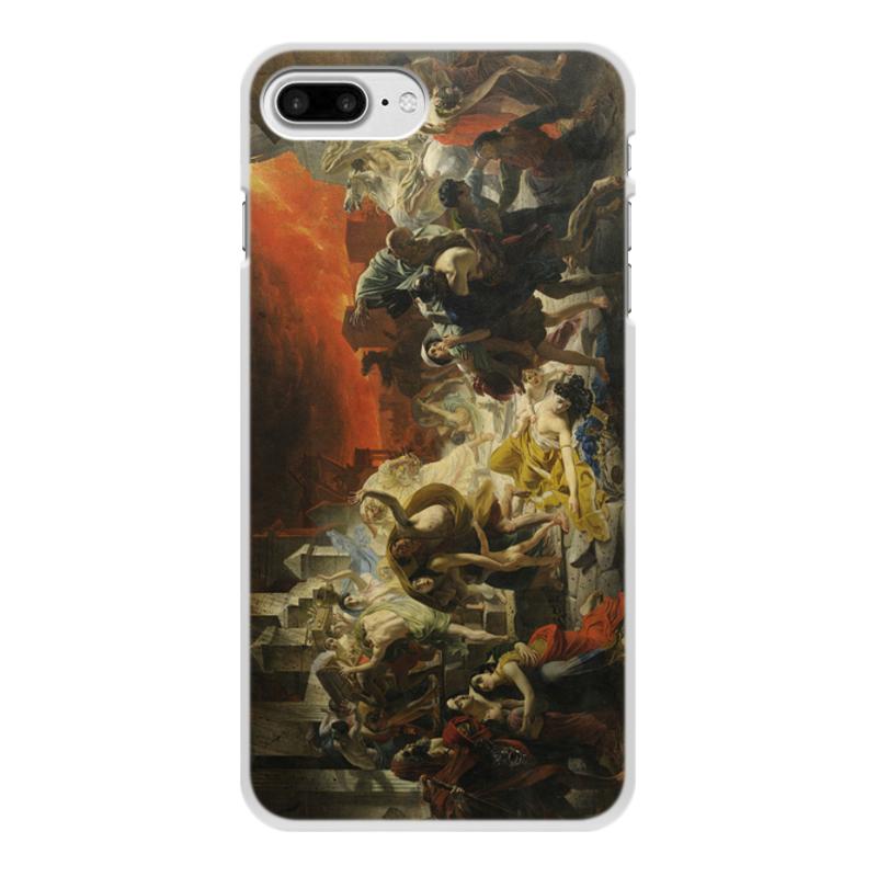 Printio Чехол для iPhone 7 Plus, объёмная печать Последний день помпеи (картина брюллова)