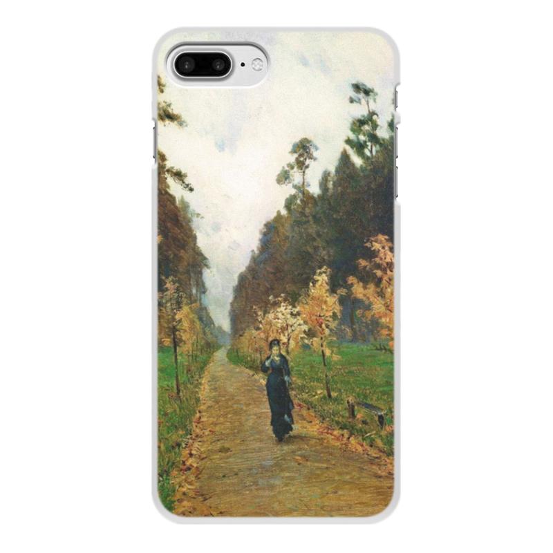 Printio Чехол для iPhone 7 Plus, объёмная печать Осенний день. сокольники (левитан)