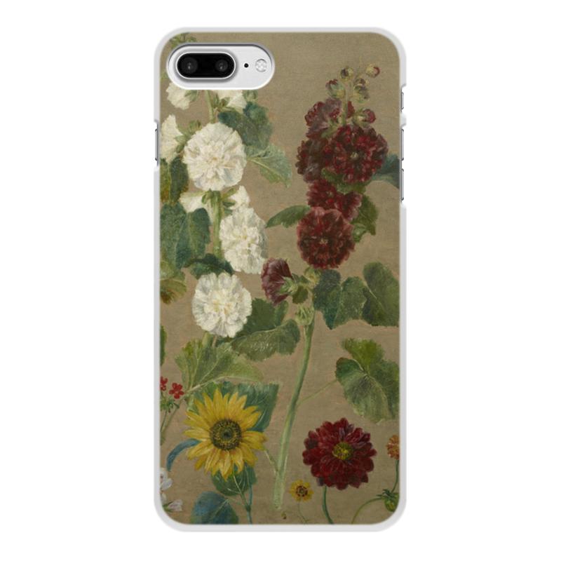 Фото - Printio Чехол для iPhone 7 Plus, объёмная печать Цветы (картина эжена делакруа) printio чехол для iphone 7 plus объёмная печать цветы на фоне озера картина вещилова