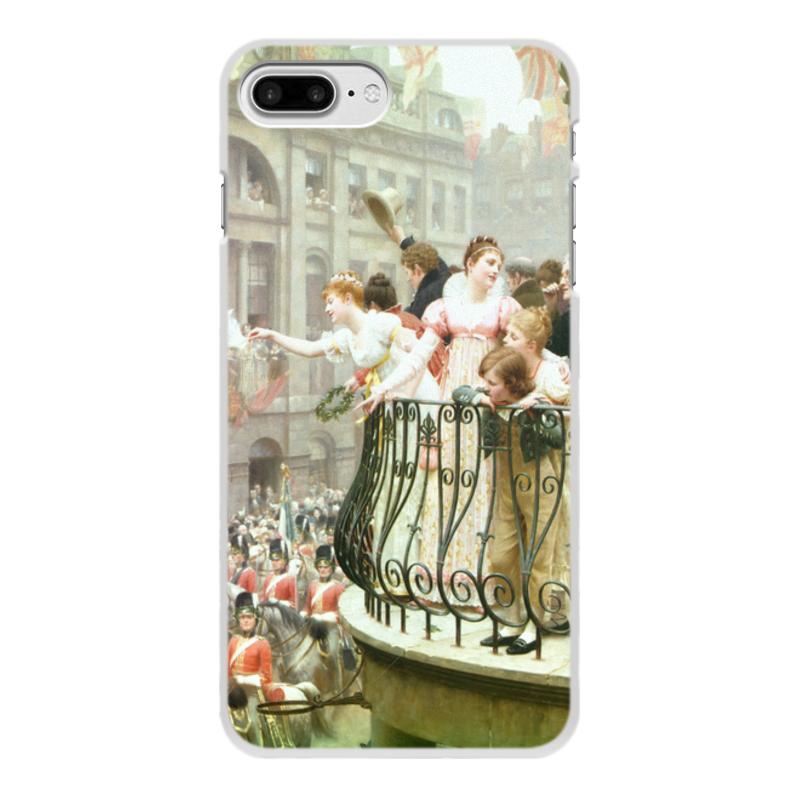 Фото - Printio Чехол для iPhone 7 Plus, объёмная печать 1816 (эдмунд блэр лейтон) printio чехол для iphone 7 plus объёмная печать сирень эдмунд блэр лейтон