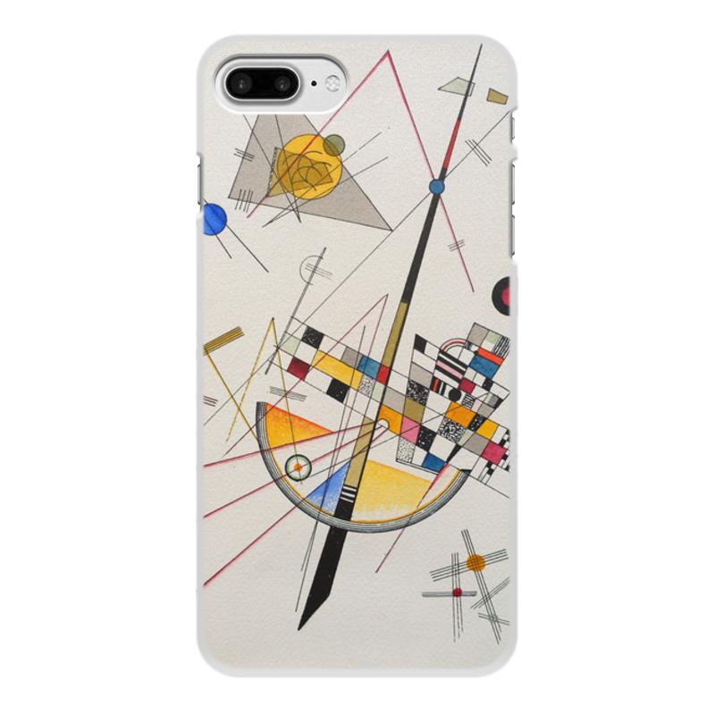 Printio Чехол для iPhone 7 Plus, объёмная печать Тонкое напряжение (василий кандинский) printio чехол для iphone 7 plus объёмная печать тонкое напряжение василий кандинский