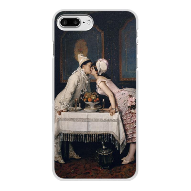 Фото - Printio Чехол для iPhone 7 Plus, объёмная печать Поцелуй (картина огюста тульмуша) printio чехол для iphone 7 plus объёмная печать поцелуй картина климта