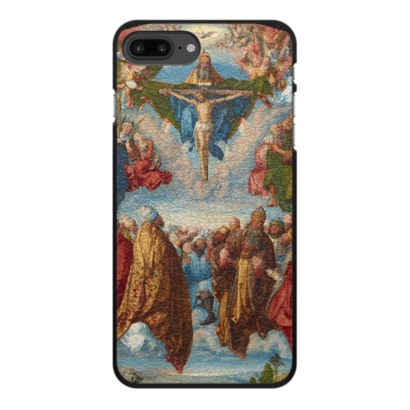 Printio Чехол для iPhone 7 Plus, объёмная печать Поклонение святой троице (альбрехт дюрер)