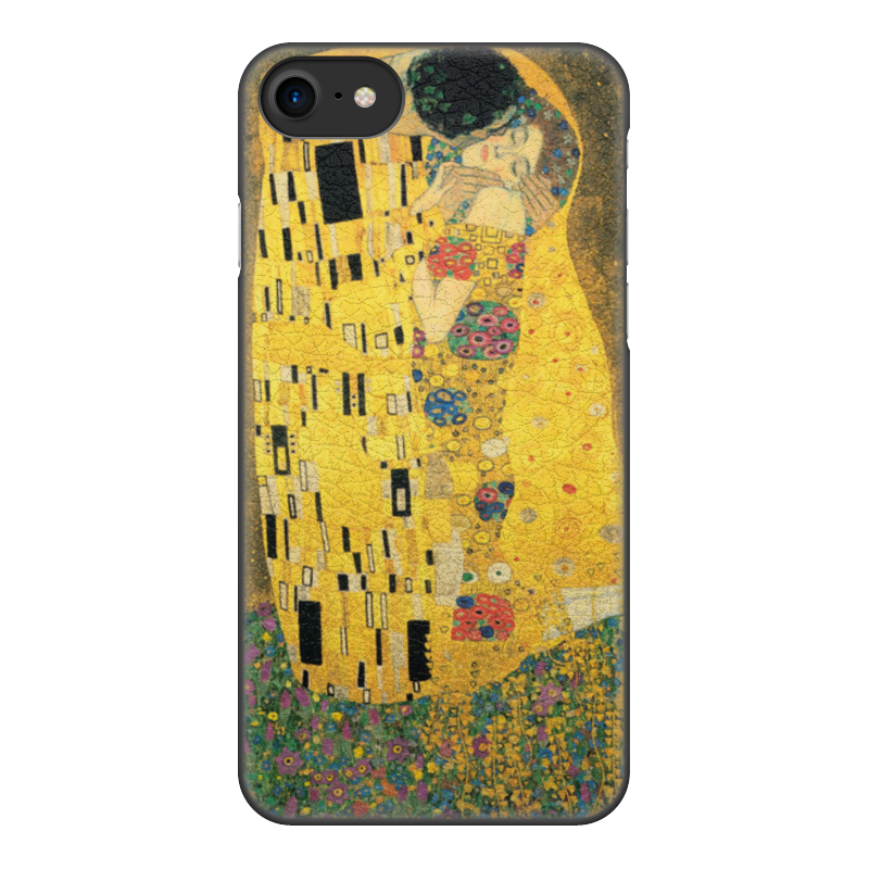 Фото - Printio Чехол для iPhone 8, объёмная печать Поцелуй (картина климта) printio чехол для iphone 7 plus объёмная печать поцелуй картина климта