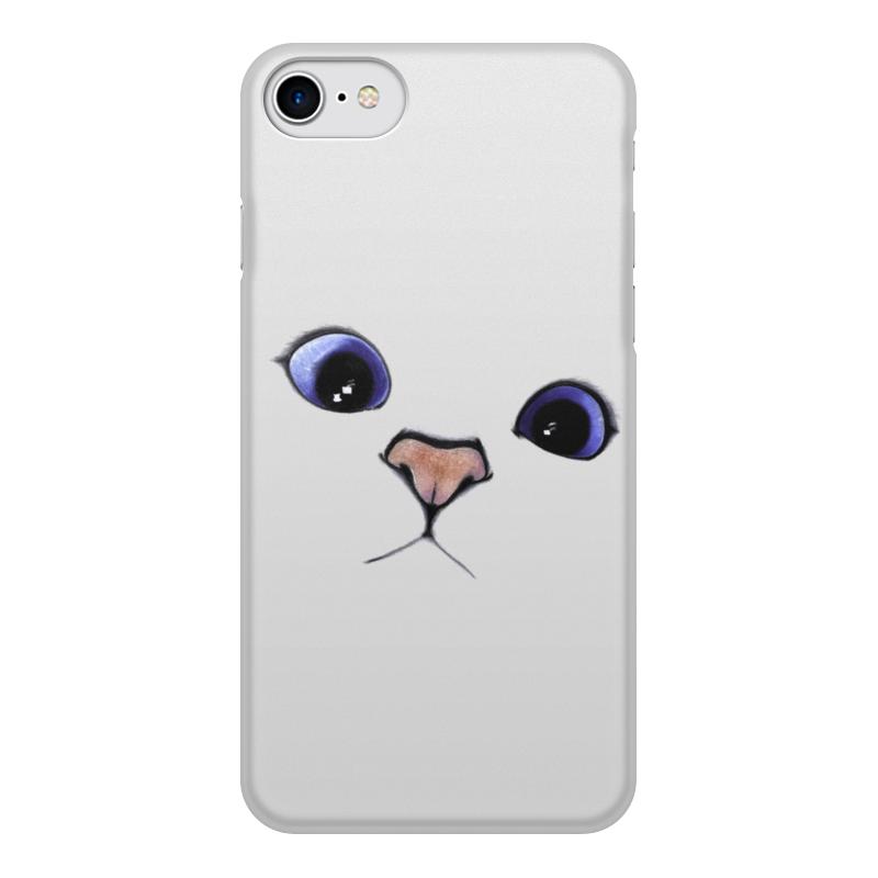 Printio Чехол для iPhone 8, объёмная печать Кот коби чехол