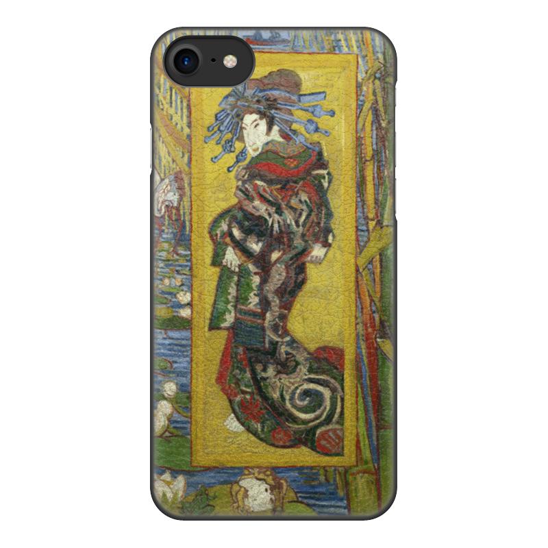 Printio Чехол для iPhone 8, объёмная печать Куртизанка (винсент ван гог) printio чехол для iphone 6 plus объёмная печать куртизанка винсент ван гог