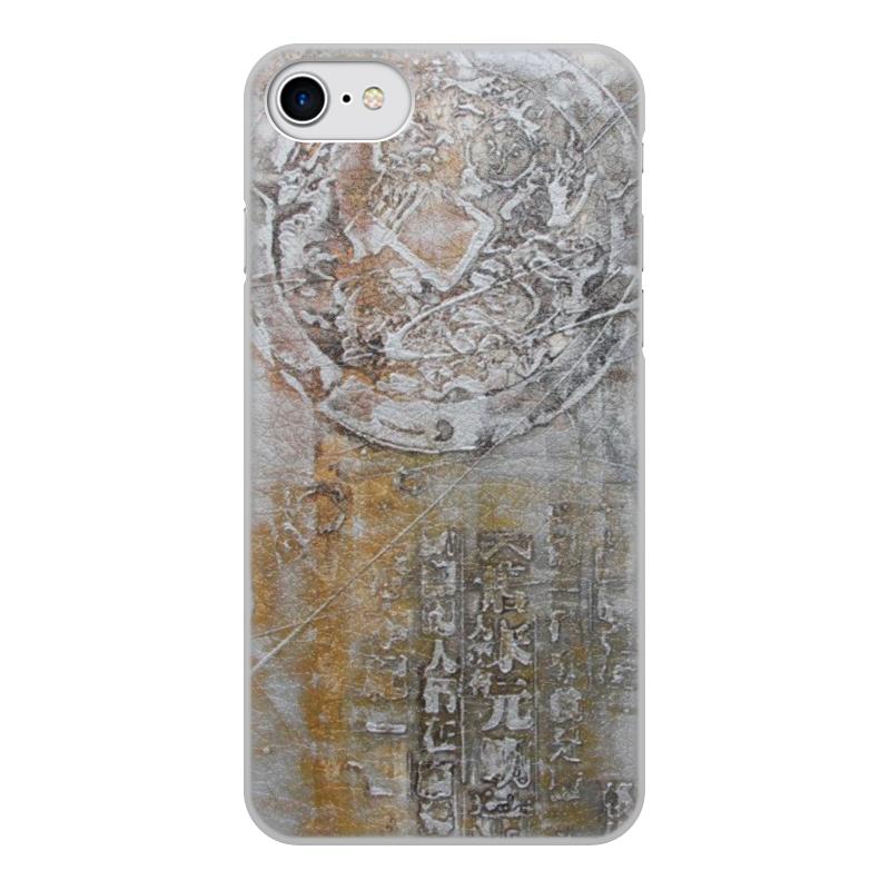 Printio Чехол для iPhone 8, объёмная печать Знаки