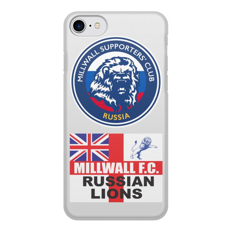 Printio Чехол для iPhone 8, объёмная печать Millwall msc russia phone cover