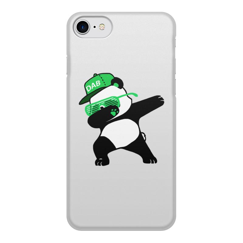 Printio Чехол для iPhone 8, объёмная печать Dab panda