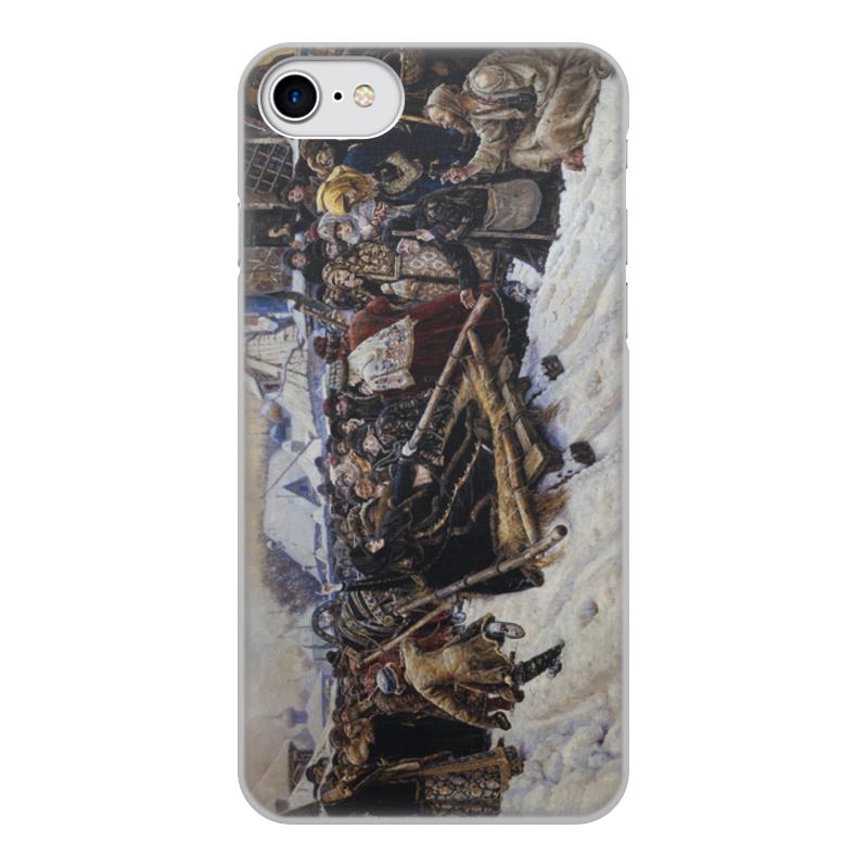 Printio Чехол для iPhone 8, объёмная печать Боярыня морозова (картина в. и. сурикова) марьяна сурикова сердце стужи