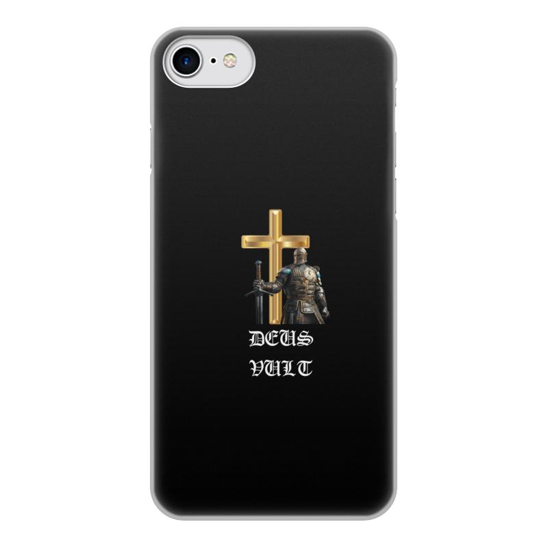 Фото - Printio Чехол для iPhone 8, объёмная печать Deus vult. крестоносцы printio чехол для samsung galaxy s8 объёмная печать deus vult крестоносцы