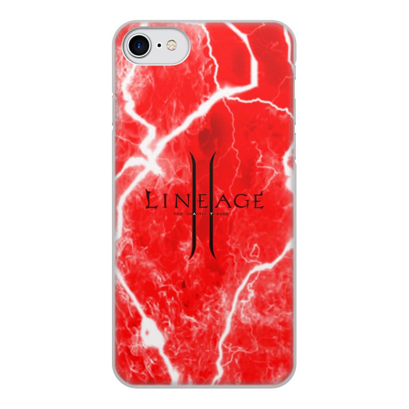 Printio Чехол для iPhone 8, объёмная печать Lineage чехол