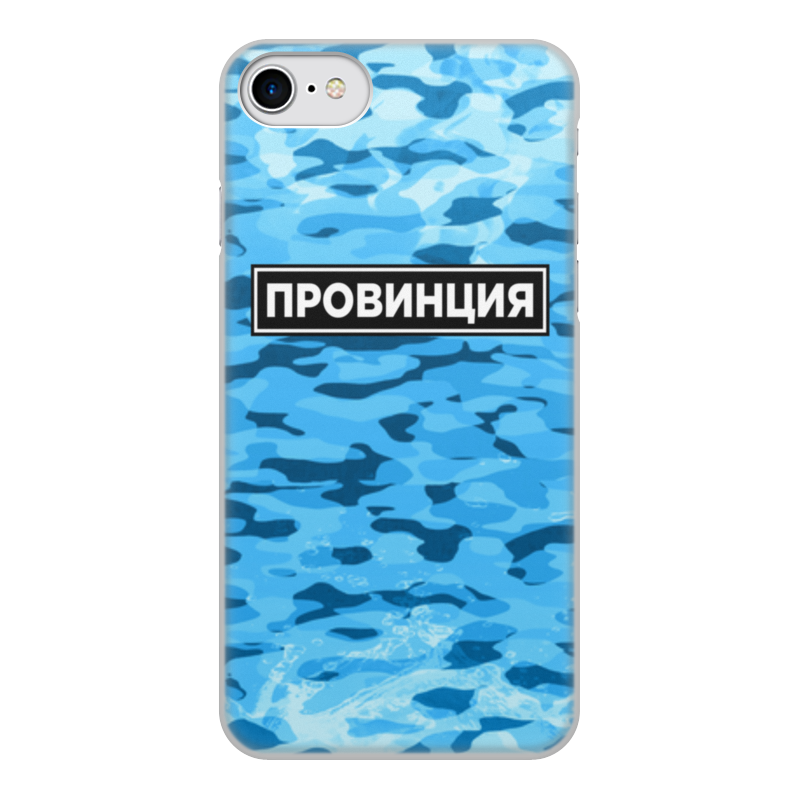 Printio Чехол для iPhone 8, объёмная печать Провинция чехол
