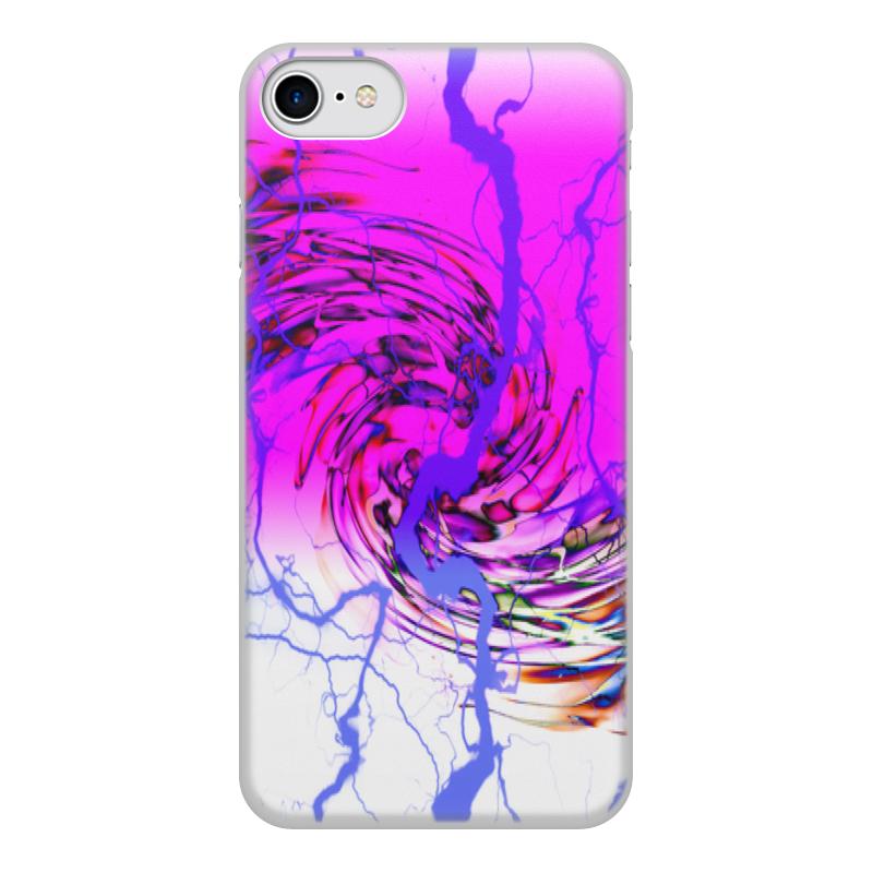 Printio Чехол для iPhone 8, объёмная печать Узор красок