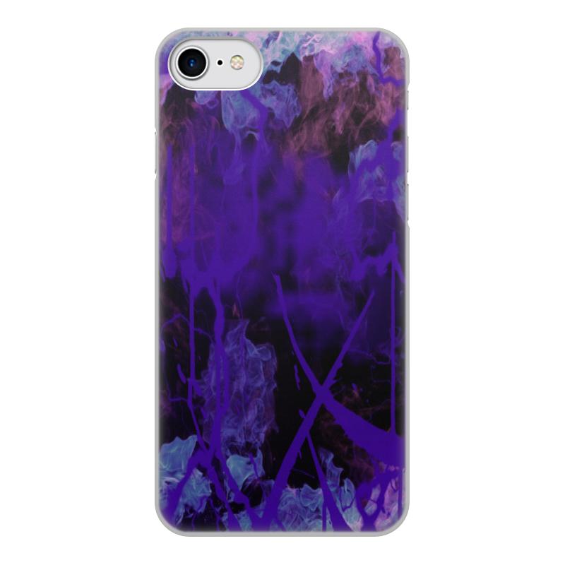 Printio Чехол для iPhone 8, объёмная печать Краски