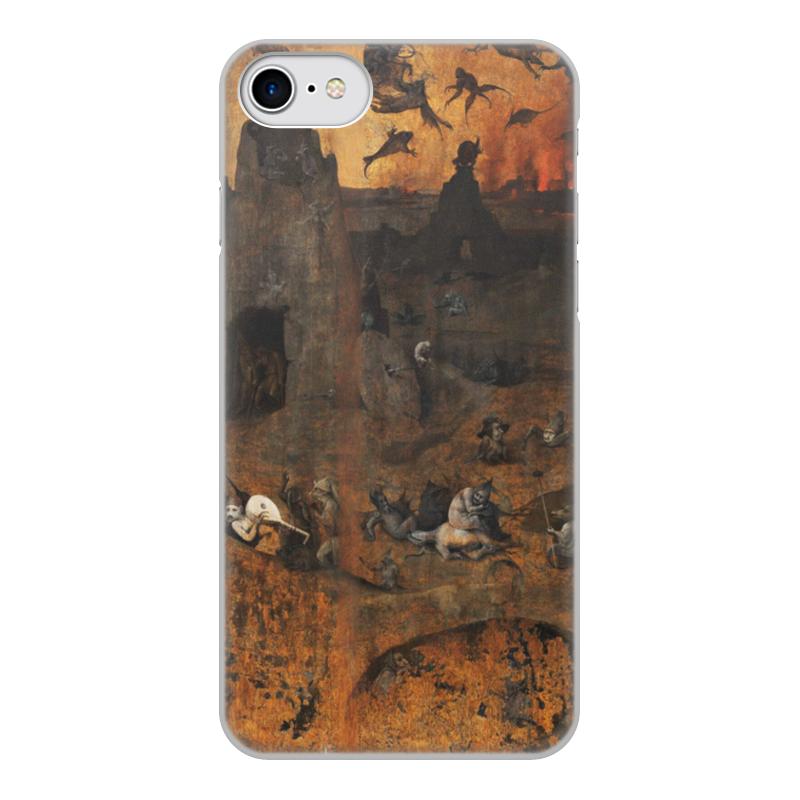 Фото - Printio Чехол для iPhone 8, объёмная печать Ад (ад и потоп (створки алтаря иеронима босха)) printio чехол для samsung galaxy s8 plus объёмная печать ад ад и потоп створки алтаря иеронима босха