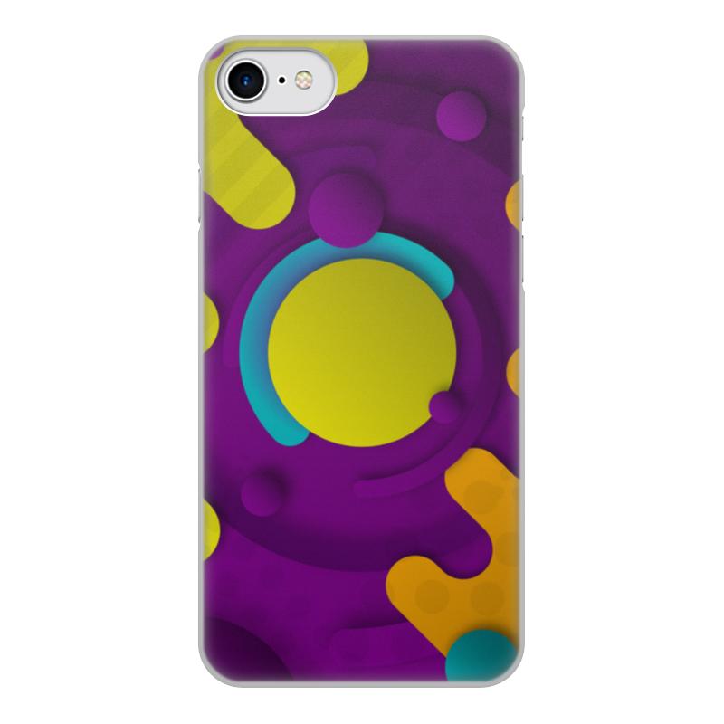 Printio Чехол для iPhone 8, объёмная печать Абстрактный