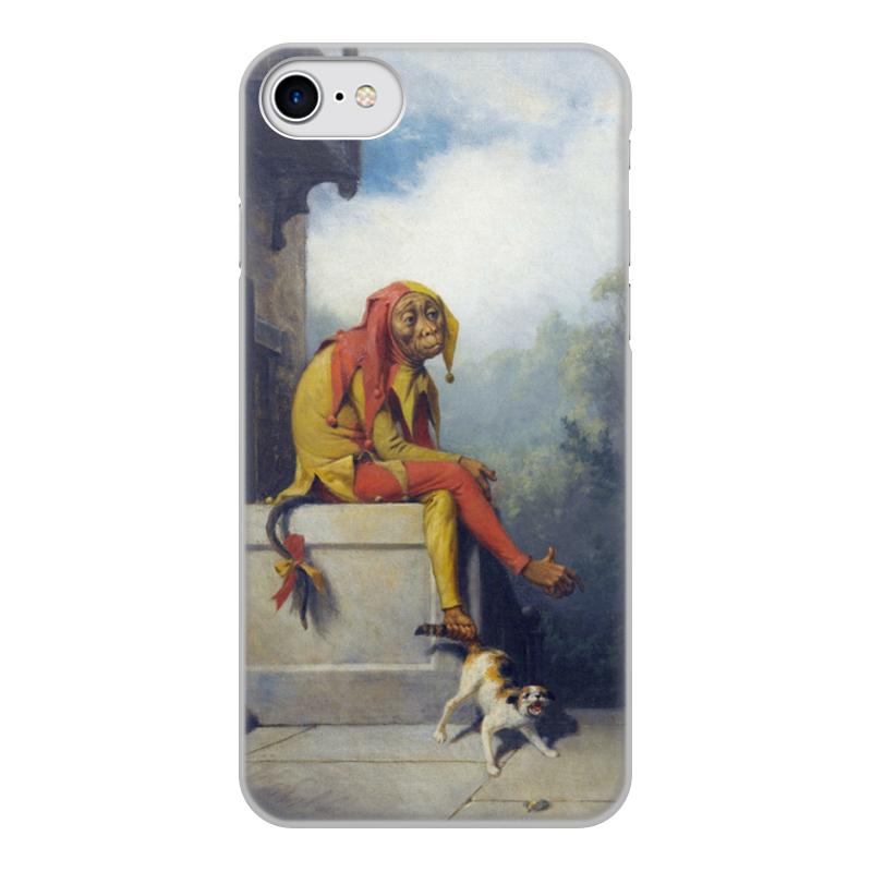 Printio Чехол для iPhone 8, объёмная печать Для чего я был создан? (уильям берд)