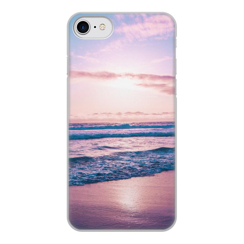 Printio Чехол для iPhone 8, объёмная печать Summer time!