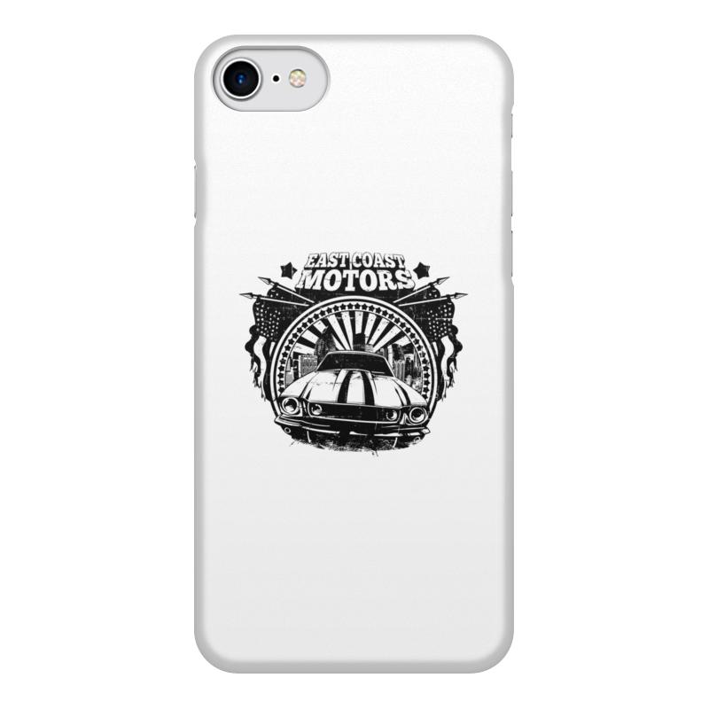 Printio Чехол для iPhone 8, объёмная печать East coast motors printio чехол для iphone 6 объёмная печать east coast motors