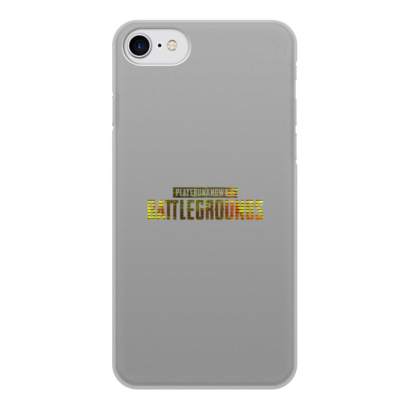 Printio Чехол для iPhone 8, объёмная печать Игра pubg чехол