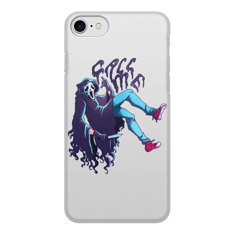 Printio Чехол для iPhone 8, объёмная печать Позвони мне чехол