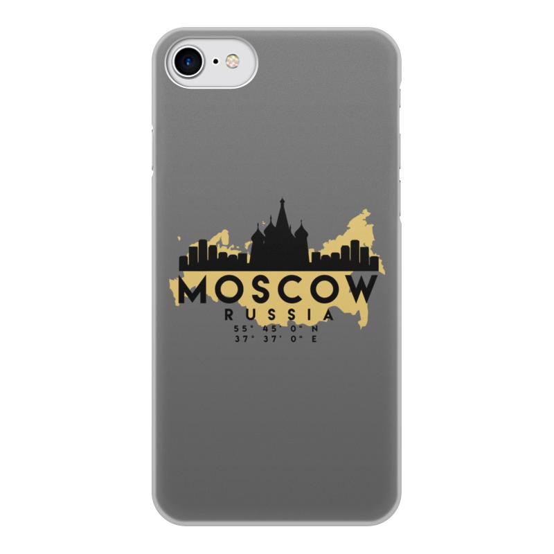 Printio Чехол для iPhone 8, объёмная печать Москва (россия)