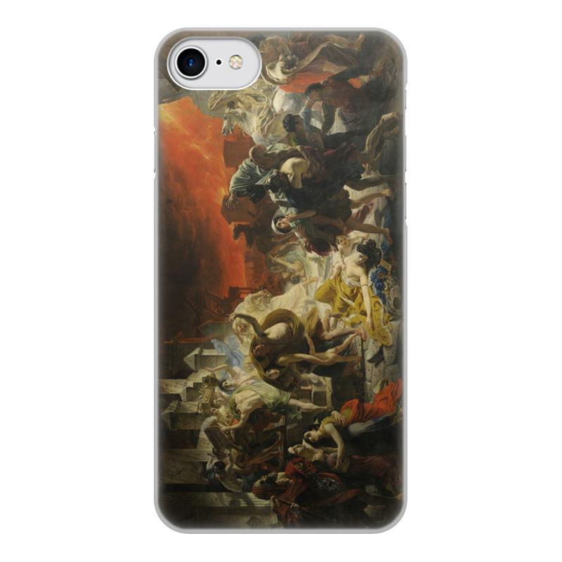Printio Чехол для iPhone 8, объёмная печать Последний день помпеи (картина брюллова)