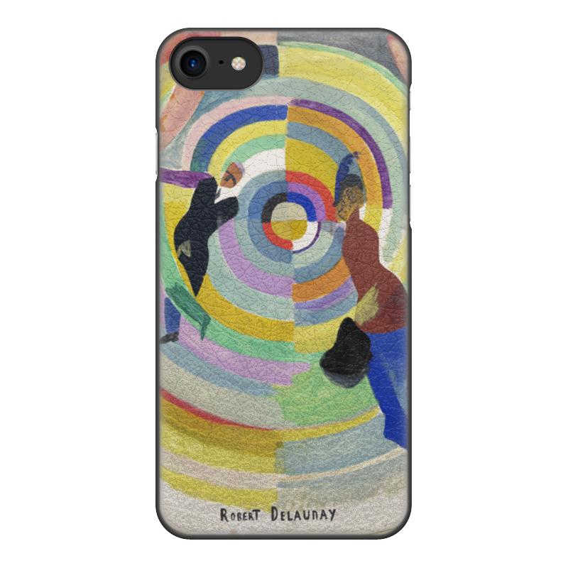 Фото - Printio Чехол для iPhone 8, объёмная печать Политическая драма (робер делоне) printio чехол для iphone x xs объёмная печать бесконечный ритм робер делоне