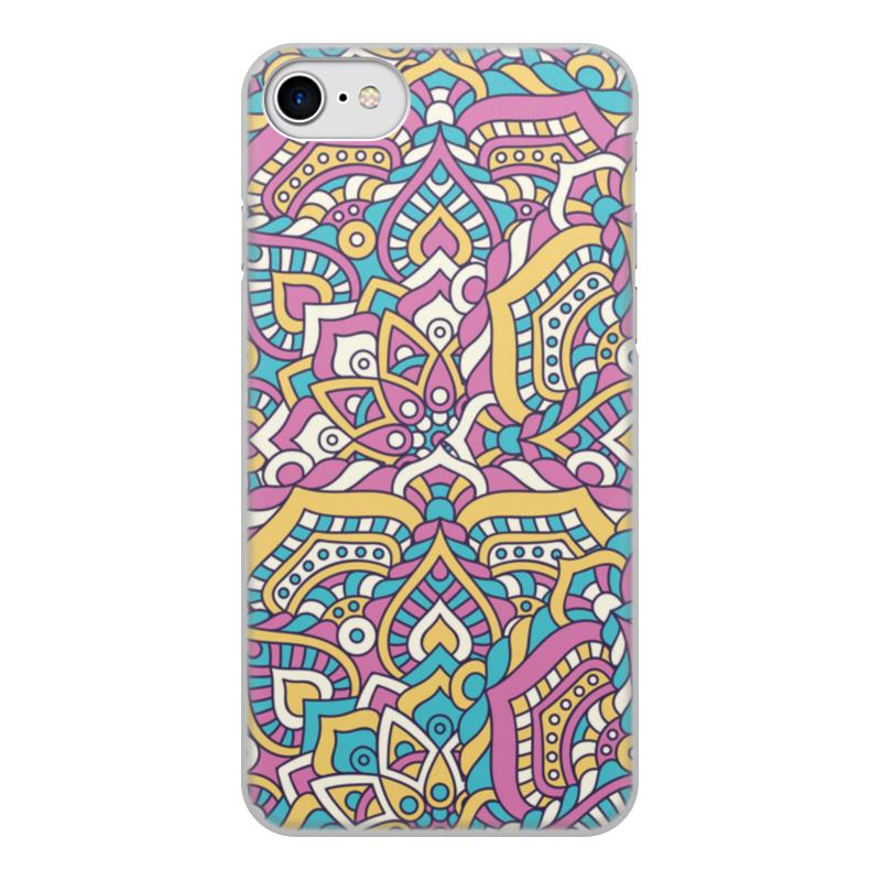 Printio Чехол для iPhone 8, объёмная печать Роспись чехол