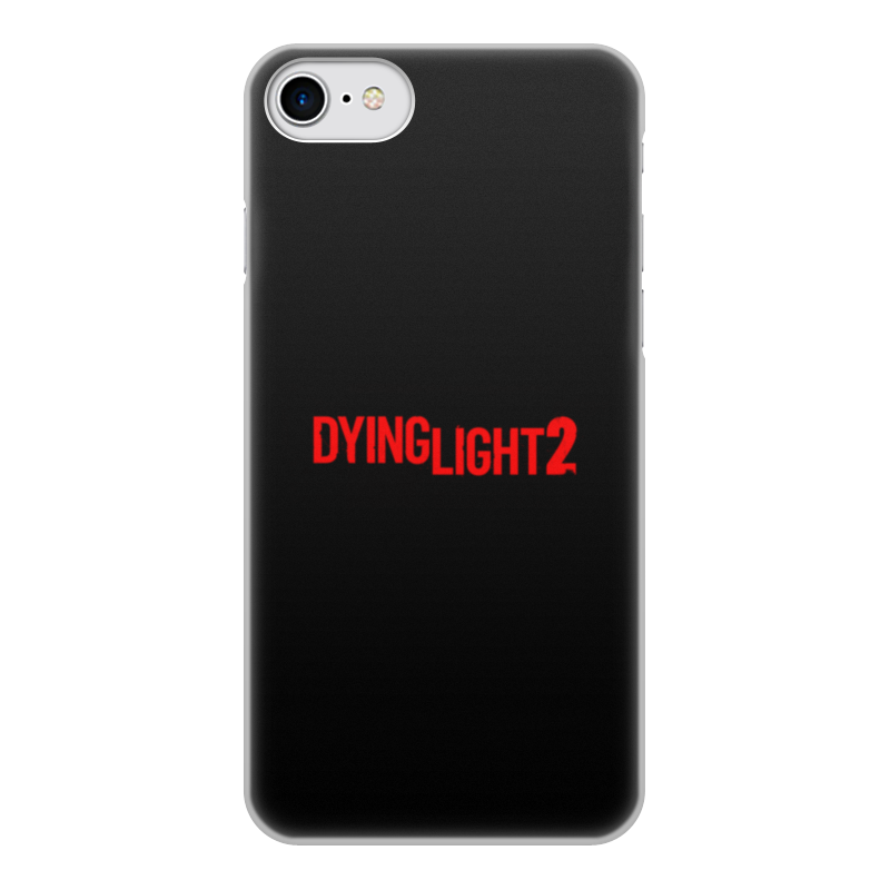 Printio Чехол для iPhone 8, объёмная печать Dying light чехол