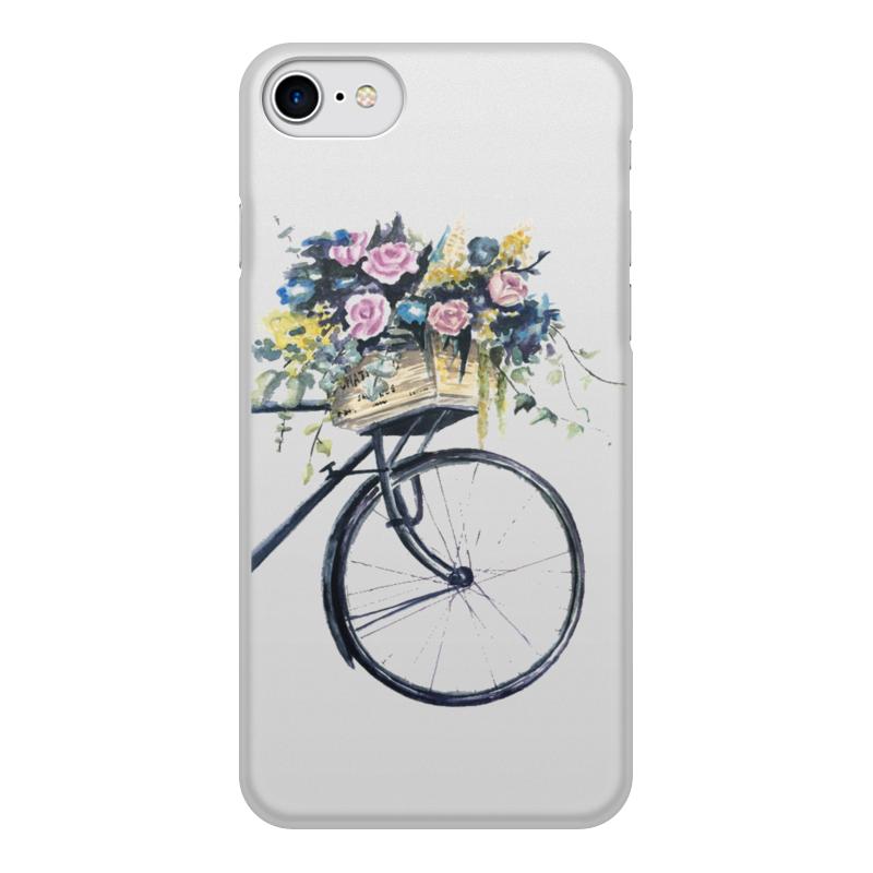 Printio Чехол для iPhone 8, объёмная печать Прованс