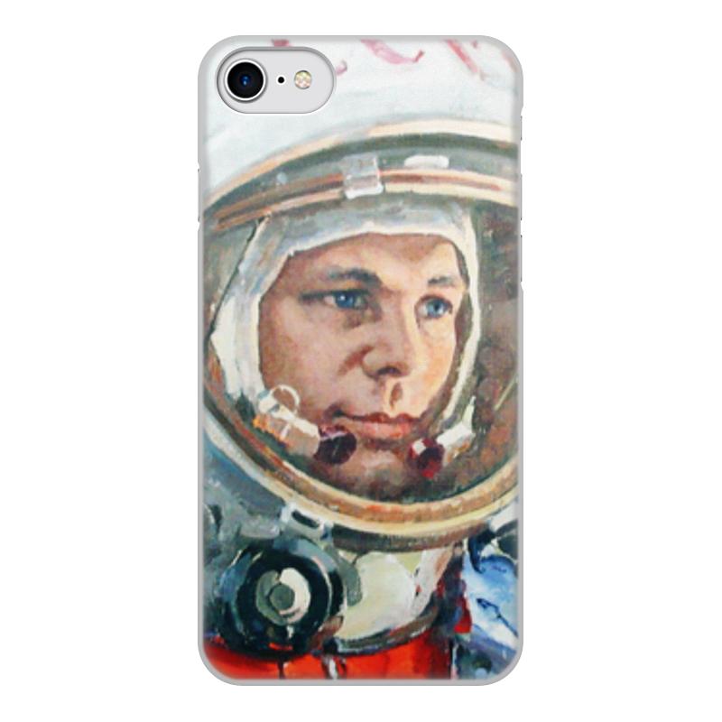 Printio Чехол для iPhone 8, объёмная печать Гагарин