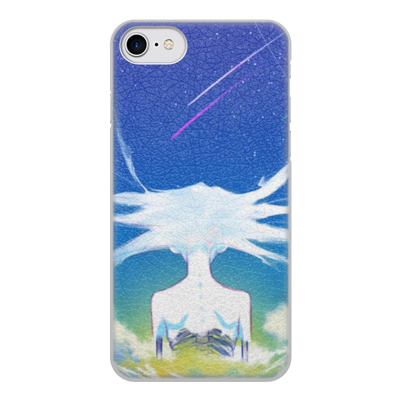 Printio Чехол для iPhone 8, объёмная печать Призрак чехол