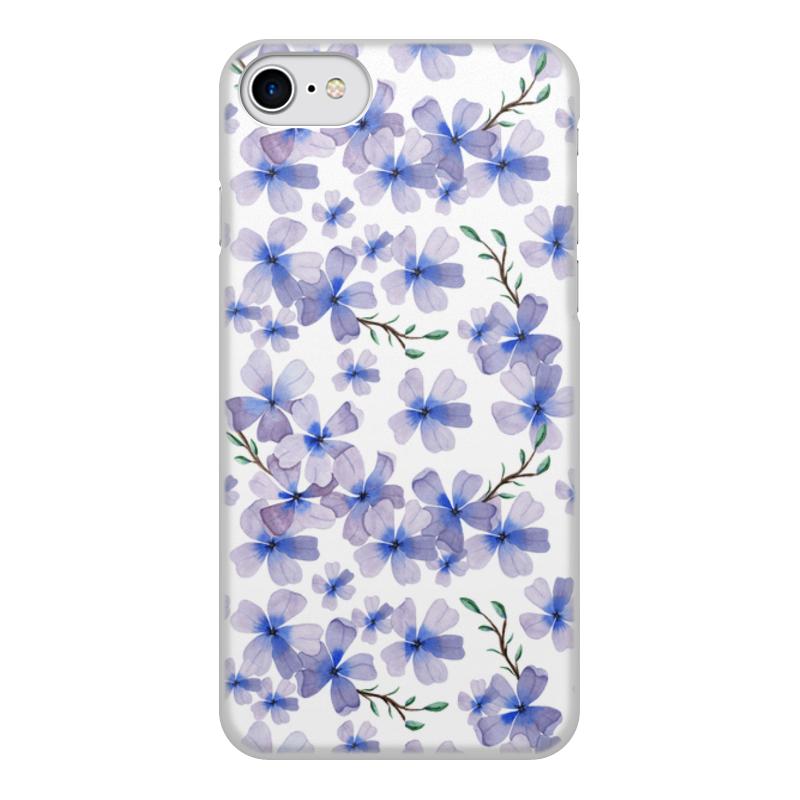 Printio Чехол для iPhone 8, объёмная печать Цветы чехол