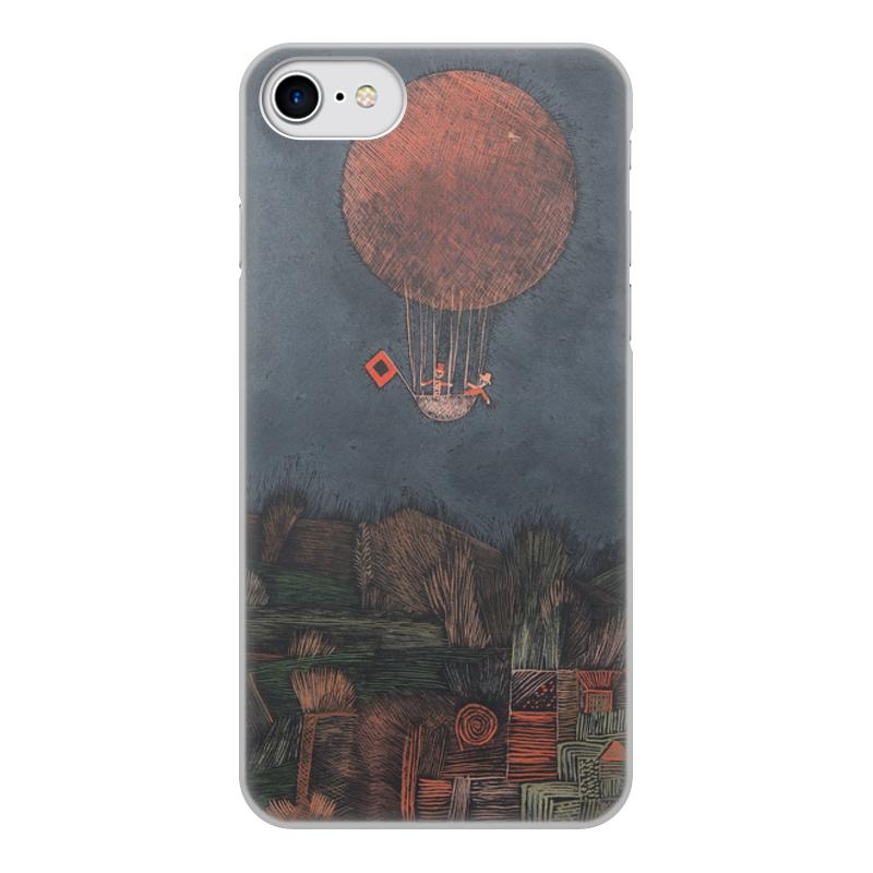 Фото - Printio Чехол для iPhone 8, объёмная печать Воздушный шар (пауль клее) printio чехол для iphone 8 plus объёмная печать тепло пауль клее